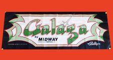 Large Galaga Arcade Video Game Banner Flag Poster