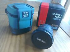 Sigma EX 17-35 Canon fit