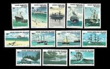 Cocos Islands. Historic ships. 1976 Scott 20-31. Mnh (Bi#Ar/13)