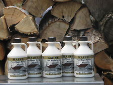 Maine Maple Syrup Bundle #5, Grade A Amber Color, Rich Flavor