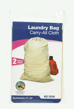 Home Products 6000566 19 x 30 in. Natural Khaki Cotton-Canvas Fabric Laundry Bag