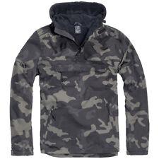 Brandit Men's Between-seasons Jacket Windbreaker Rain Fleece Lining 3001 Darkcamo L