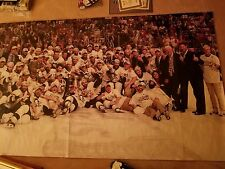 Pittsburgh Penguins Civic Arena Memorabilia  2009 Stanley Cup Poster with COA