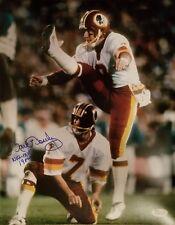Washington Redskins, Mark Moseley signed 11x14 Photo inscribed w/JSA