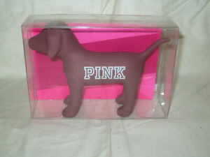Victorias Secret PINK Logo Mini Dog Rubber PINK FRIDAY 2016 LIMITED EDITION NEW