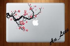 Macbook Air Pro Skin Sticker Decal - Sakura Cherry Blossom Paint Art #CMAC062