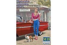 """MasterBox MB24015 1/24 Pin-up series. """"A short stop"""". Kit No. 1"""