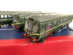 Bachmann 32-913 Class 108 THREE CAR DMU BR GREEN SPEED WHISKERS