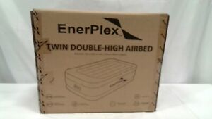Luxury Twin Air Mattress with Built-in Pump Never-Leak Pillow Top