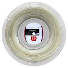 WILSON SENSATION COMFORT TENNIS STRING - 1.25MM 17G - 200M REEL NATURAL RRP £130
