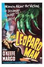 Leopard Man Poster 01 Metal Sign A4 12x8 Aluminium