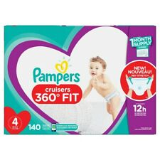 Pampers Cruisers 360 Disposable Diapers One Month Supply, Size 4 140Ct