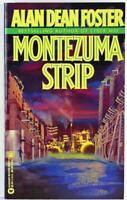 Montezuma Strip by Alan Dean Foster 1995, Aspect Science Fiction Paperback