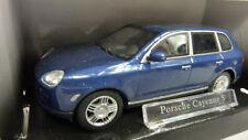 Cararama 1:43 Porsche Cayenne S blau in OVP (A506)