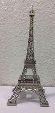 Tour Eiffel/Eiffel tower en métal 38cm - couleur Argenté - Souvenir de Paris