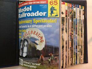 1999 Vintage Model Railroading Magazine Lot 12 Issues Trains Railroad