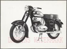 Vintage 1950s Photo Jawa 353 354 Motorcycle 701041