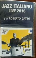 Jazz Italiano Live 2016 cd 3 Roberto Gatto la Repubblica  MP/2