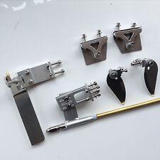 95mm gouvernail/strut/4mm jeu de câbles/turn fin/trim tab pour électrique nitro rc bateau