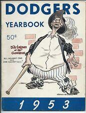 Brooklyn Dodgers, 1953 Yearbook, Decent