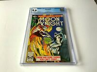 MOON KNIGHT 5 CGC 9.6 WHITE PAGES SKELETON WITH SHOTGUN COVER MARVEL COMICS 1981