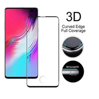 For Samsung Galaxy S10 Plus / S10 5G Full Screen Protector Tempered Glass CA AN