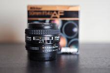 Nikon AF 50mm 1.4D Prime FX Lens! - MINT!