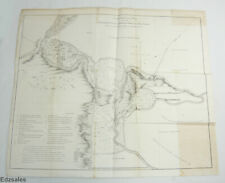 Mohawk River and Wood Creek New York Topographical Map Lithograph of R H Pease