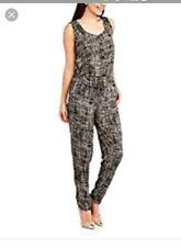 4f1cb16c52bc French Laundry Womens Jumpsuit 3X Geometric Black White Sleeveless Pants  Romper