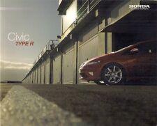 Honda Civic Type R 2010-11 UK Market Sales Brochure GT Mugen 200