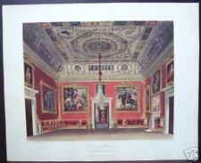 "W. H. Pyne: ""Drawing Room, Buckingham House"" 1817"