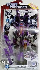 SKYWARP Transformers Generations IDW Deluxe Class Figure Comic Pack Wave 8 2014