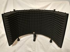 Monoprice Microphone Isolation Shield, Acoustic Foam Front