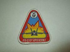 Australian Air Force F/A-18 E/F Super Hornet - Triangle Sewing Patch