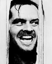 Jack Nicholson In The Shining 8X10 B&W Photo