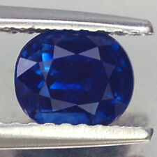 1.01CT CERTIFIED VVS UNHEATED UNTREATED OVAL BLUE SAPPHIRE NATURAL