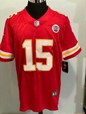 Patrick Mahomes 15 Kansas City Chiefs NFL Men Red Football Jersey