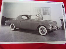 1953 STUDEBAKER LOEWY TOWN CAR & RAYMOUND LOEWY    BIG 11 X 17  PHOTO /  PICTURE