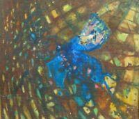 """Marie Pospisilova: """"Nascita.....Farfalla"""" 1959 Öl auf Leinwand"""