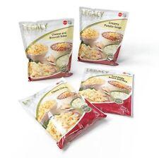 GLUTEN FREE FOOD STORAGE- FREEZE DRIED EMERGENCY MEAL SAMPLE PACK - 16 SERVINGS
