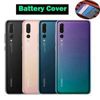 Battery Cover Back Glass Rear Case Skins Housing Replacement for HUAWEI P20 Pro