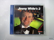 JIMMY WHITE'S 2 CUEBALL Sega Dreamcast Virgin Used Usato Pal Retrogame