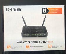 D-Link 300 4 10/100 Wireless N Router (DIR-615)