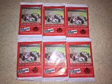 """""""Legends Of Indy"""" Racing Collector Cards 1992 6 Packs Of 10 Pack Rick Mear New"""