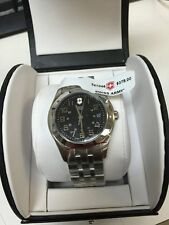 Mens Swiss Army Stainless Steel Quartz Movement Watch 241046