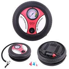Portable Tyre Inflator Air Compressor Pump with Gauge4 Car/Van/Motorcycle/Bike