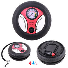 portátil Inflador de Neumáticos Compresor Aire Bomba Con gauge4 COCHE/Furgoneta