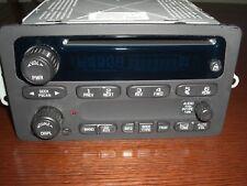 2000 2005 OLDSMOBILE Silhoutte CHEVY Cavalier Malibu Impala CD Player AMFM RADIO