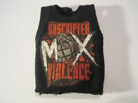 AEW Jon Moxley Mattel Elite Custom ALL ELITE WRESTLING Shirt WWE Dean Ambrose