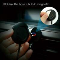 Car Bluetooth Receiver to 3.5mm Aux Adapter Car Audio transmitter FM Dongle Z0S5